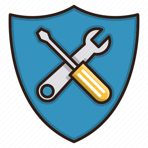 security, seo, shield, tools icon