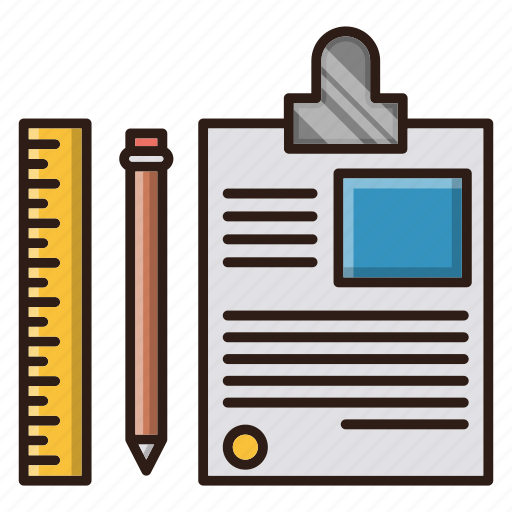 document, education, seo, tool icon