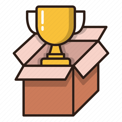 box, package, prize, seo icon
