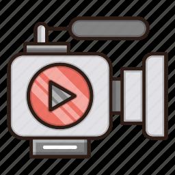camera, marketing, seo, video icon
