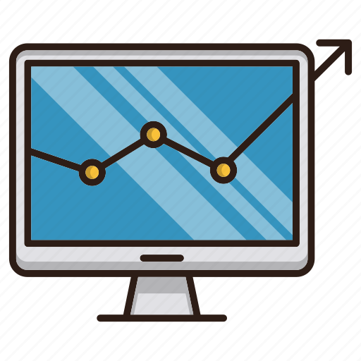chart, monitoring, report, seo icon