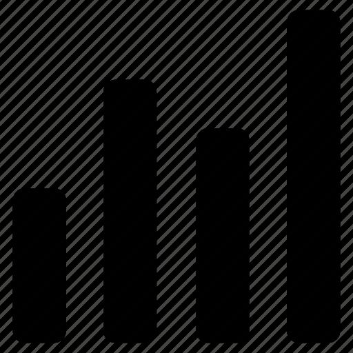 Analytics, bar chart, diagram, graph, report, statistics icon - Download on Iconfinder