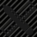 brand development, custom design, graphic, office, office supplies icon