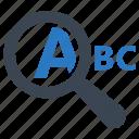 analysing, key, keyword engine, keyword management, optimization, search engine icon