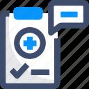 health, medical advice, medical assistance, medical report, prescription