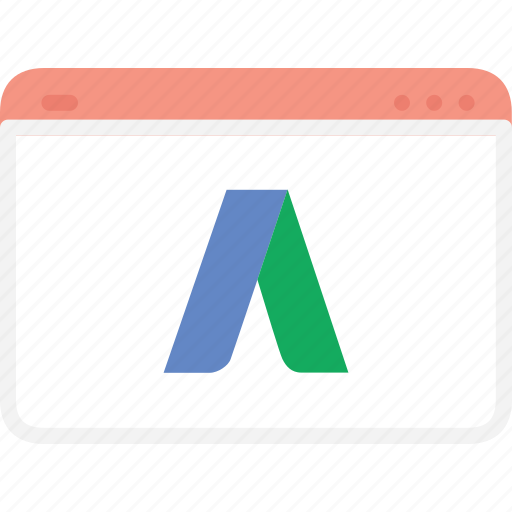 advertising, adword, adwords, business, google, seo, web icon