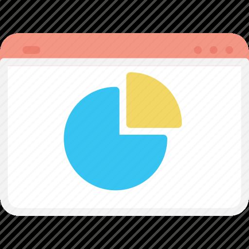 business, chart, dash, diagram, graph, web icon