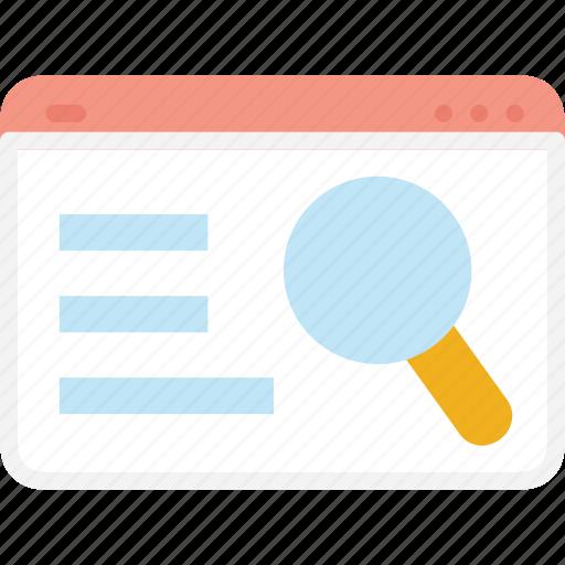 business, search, seo, web icon