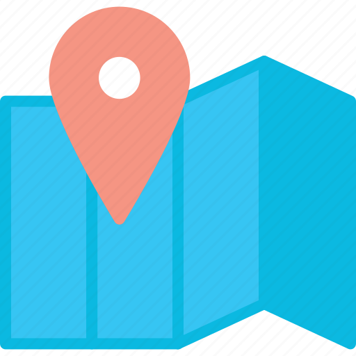 business, map, pin, seo icon