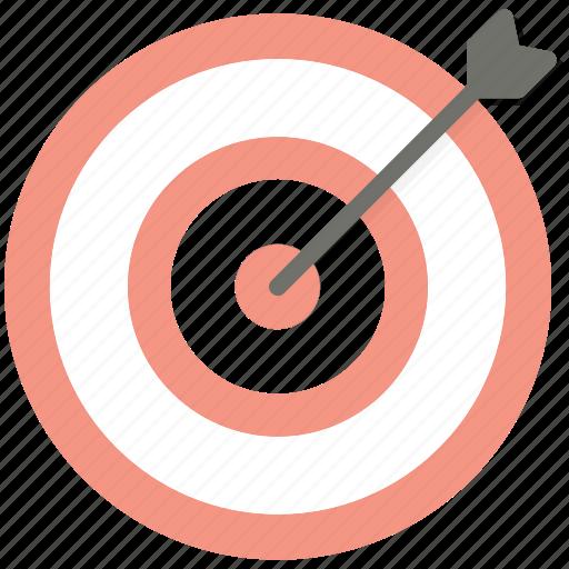 arrow, business, seo, target, targeting icon
