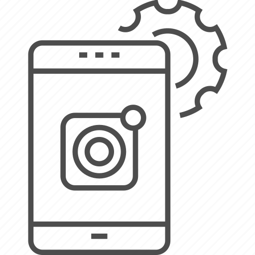 App, development, device, gear, mobile, phone, smartphone icon - Download on Iconfinder