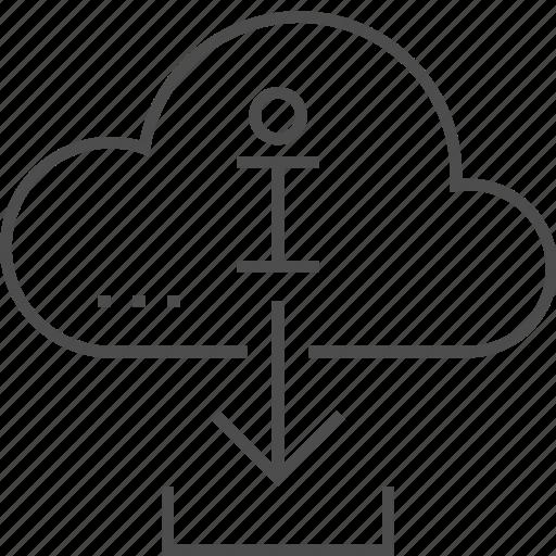 Cloud, data, document, download information, storage icon - Download on Iconfinder