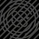 arrow, back, backlink, download, link icon