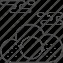 arrows, cloud, computing, storage, upload icon