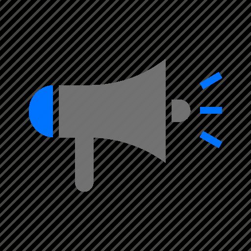 advertising, announcement, campaign, marketing, megaphone, seo icon