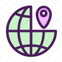 globe, location, map, place, world