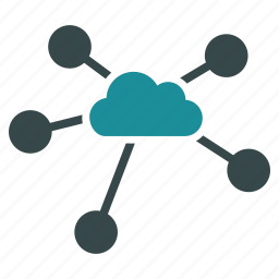 cloud computing, cloudscape, communication, computing, connection, interface, networking icon