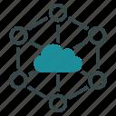 cloud, network, communication, datacenter, internet, connection, diagram