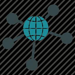 communication, earth, global, global links, globe, international, world icon