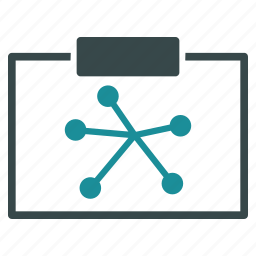 chart, connections, diagram, links, network, report, scheme icon