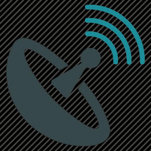 communication, radar, radio signal, satellite connection, space antenna, wifi, wireless icon