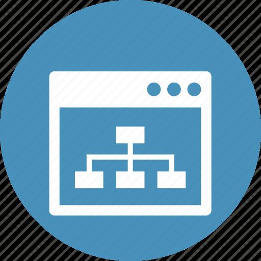 development, line, map, optimization, seo, site, website icon
