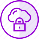 cloud, computing, lock, secure, seo
