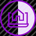 dialogue, house, laptop, property, renting, seo