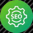 seo, setting, gear, development, optimization