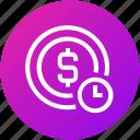 coin, dollar, marketing, money, seo, time