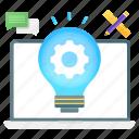 concept, development, idea generation, idea development, creative idea, innovation, concert development icon