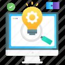 seo, solution, creative solution, creative idea, idea development, seo solution, idea generation icon