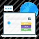 web, domain, domain searching, www, world wide web, web address, web domain icon