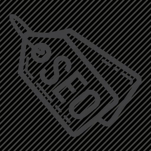 badge, development, label, marketing, seo, tag icon