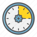 business, clock, development, managment, seo, time, watch icon