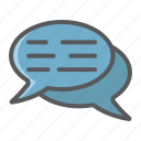 bubble, chat, communication, dialog, message, seo, speech icon