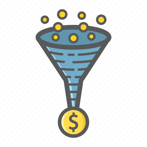 business, conversion, development, funnel, marketing, rate, seo icon
