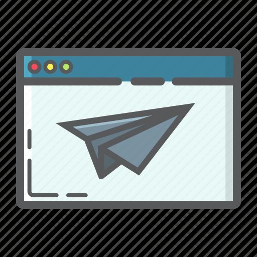 Development, landing, page, plane, seo, site, web icon - Download on Iconfinder