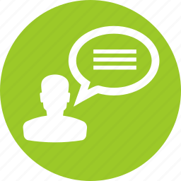 comment, communication, customer, forum, line, review, testimonials icon