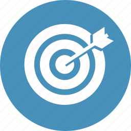 line, marketing, planning, strategy, target, targeting icon