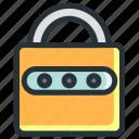 key, lock, password, protection