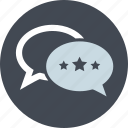comments, customer, line, reviews, star rating, testimonials, website