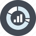 analysis, business, chart, internet, line, market icon
