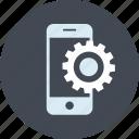 line, mobile, phone, seo, setting, website
