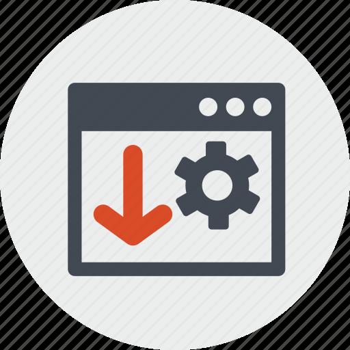 landing, line, optimization, page, seo, website icon