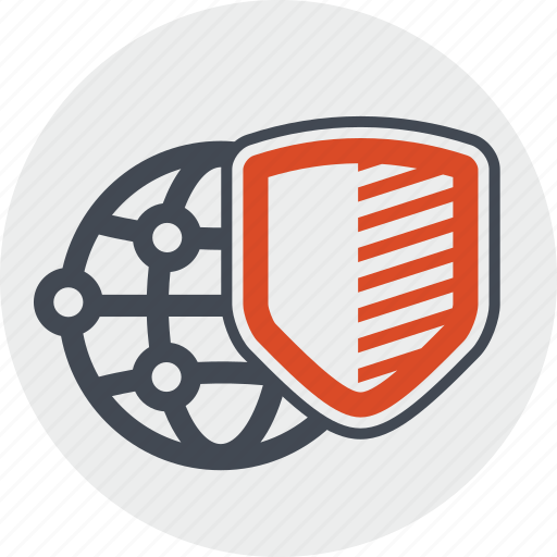 antivirus, app, internet, line, network, protection, security icon
