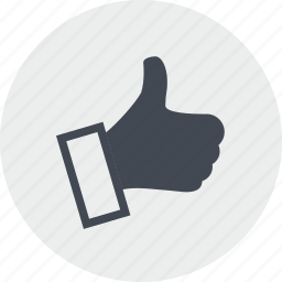 like, line, management, recommendation, reputation, social media, thumb up icon