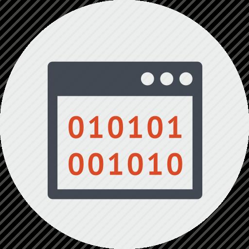 app, code, development, line, programming, seo, web icon