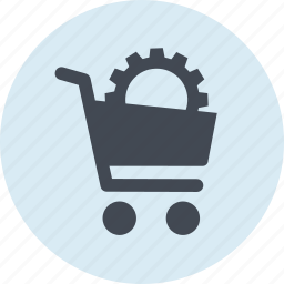 business, cart, e-commerce, internet, online, shopping, website icon