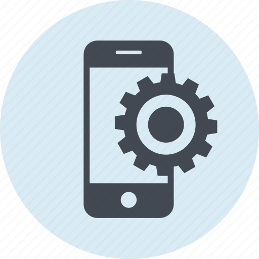 line, mobile, phone, seo, setting, website icon